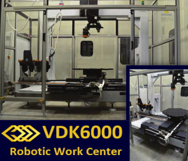 robotic work center